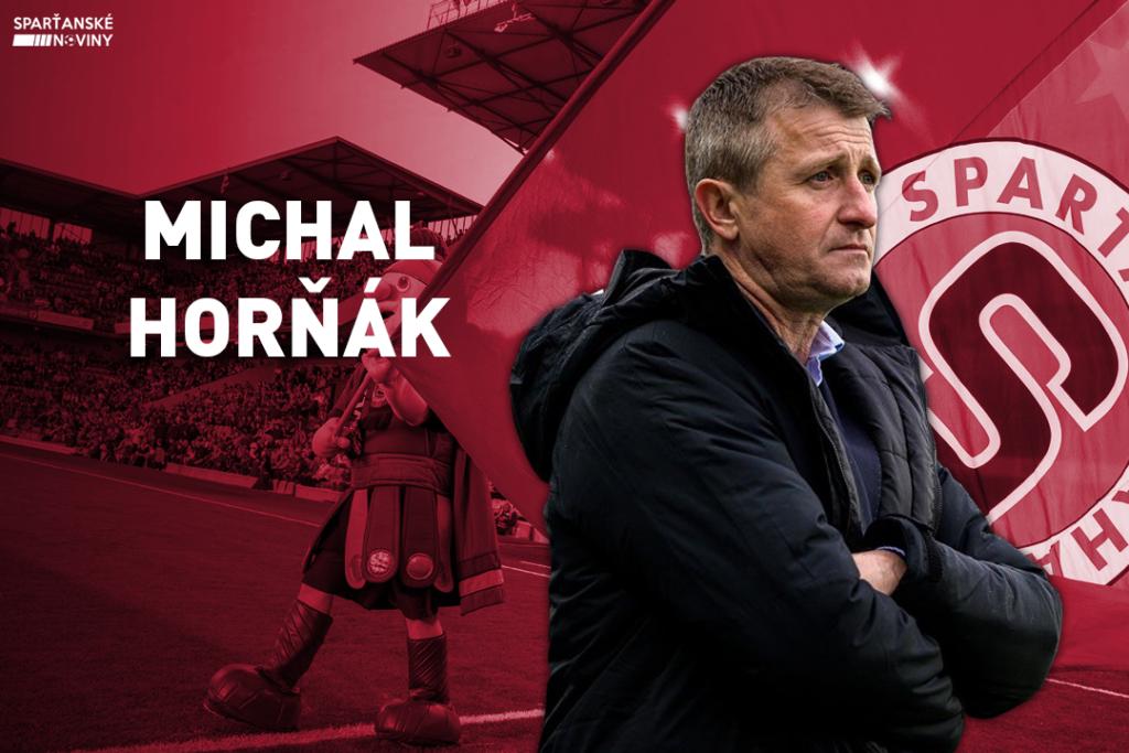 Asistent trenéra Michal Horňák