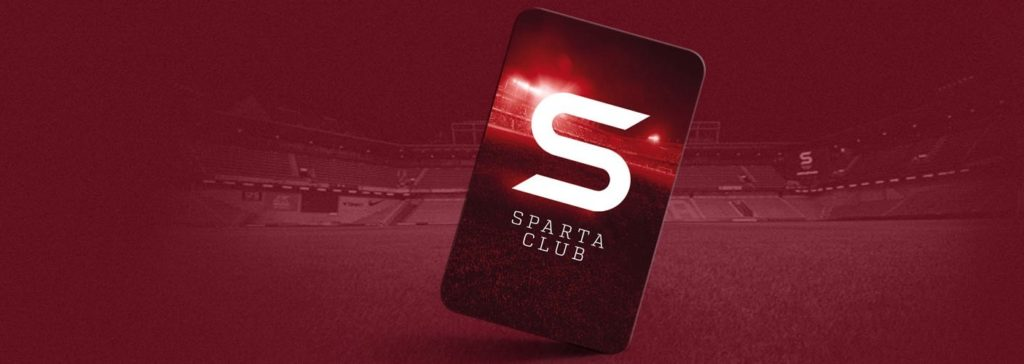 Kartička Sparta Clubu