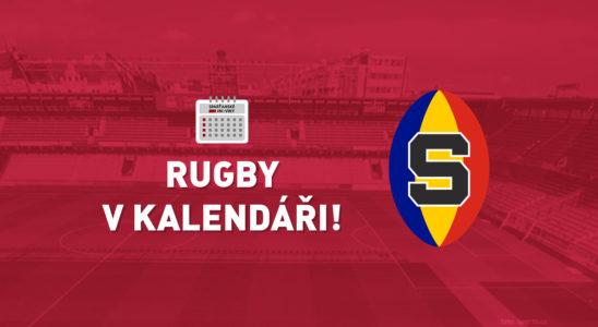 Rugby v kalendáři