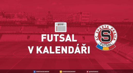 Futsal v kalendáři