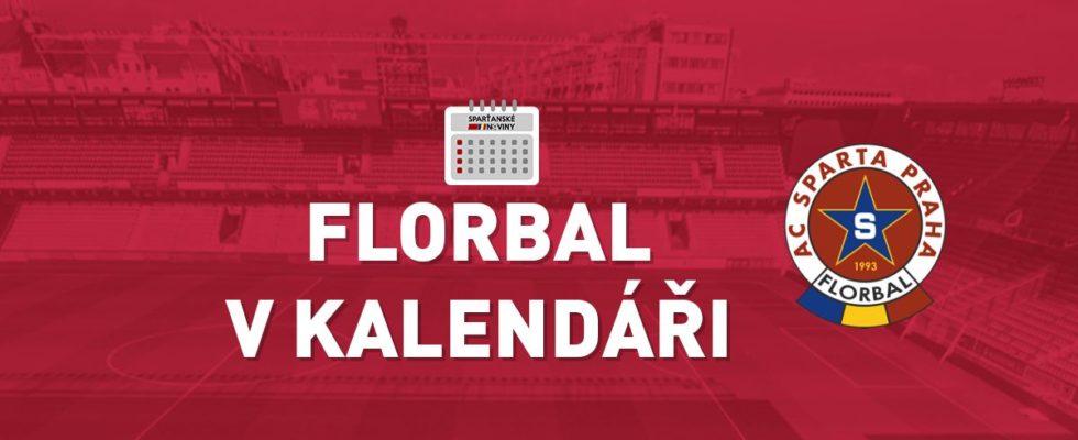 Florbal v kalendáři