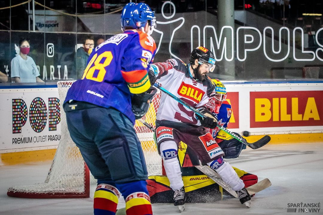 Roman Horák v utkání proti Motoru, foto: Vladimír Dobrovolný