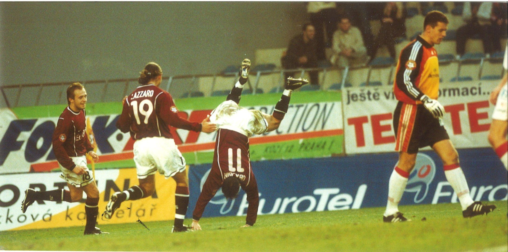 Josef Obajdin v derby