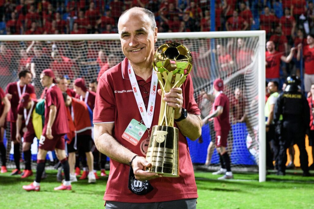 Václav Kotal s trofejí